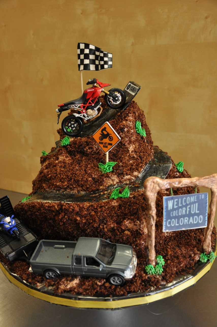 dirt bike cake - photo #22