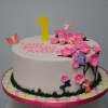 bright-pink-flowers-butterflies-first-birthday-cake2