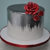 double-tall-silver-brushed-cake-with-red-sugar-roses
