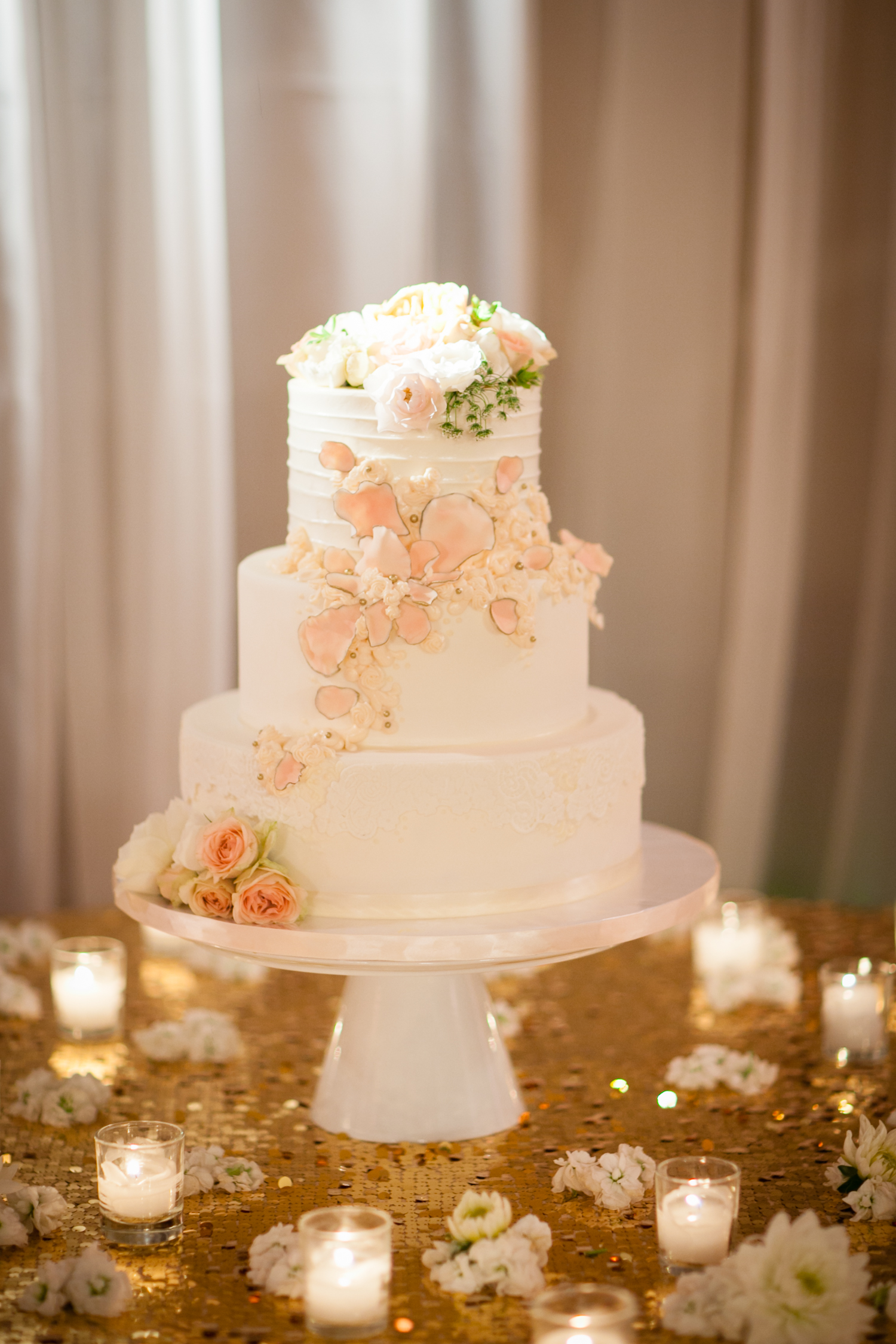 peach wedding cake gallery wedding cake gallery sweet cheeks baking company 18146