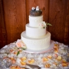 butter-cream-lace-detail-wedding-cake-birds-in-nest-topper-heather-elise-photography