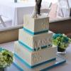 sparkly-white-edible-monogram-square-cake-with-aqua-ribbon-3-531x800