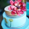 watercolor-painted-turquoise-wedding-cake-with-giant-painted-dahlia-sweet-cheeks-christina_obrien_photography_058_low