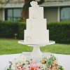 white-wedding-cake-with-sugar-florets-for-christina-paul-onelove-photography