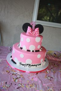 Minnie Mouse Cake For Vida Let There Be Life Sweet