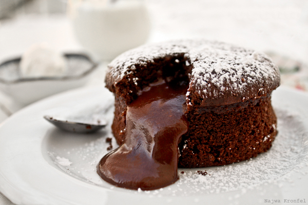 It's ok for the molten chocolate gang to melt...
