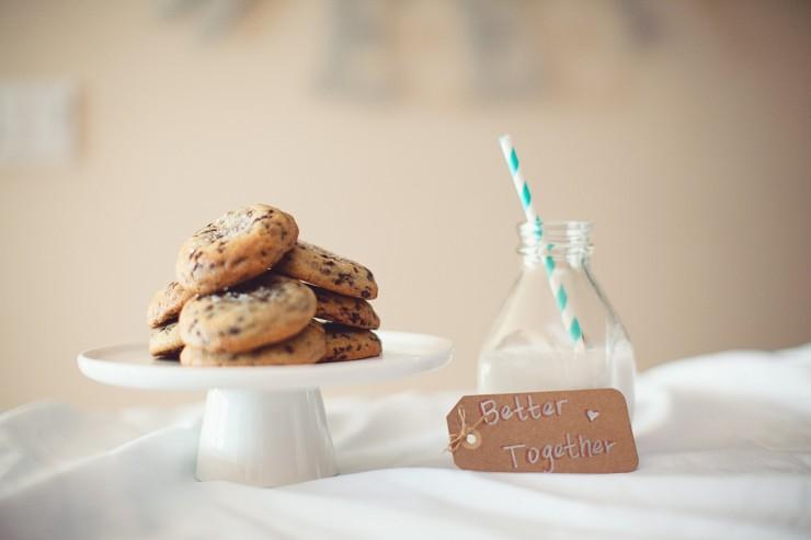 Sea Salted Chocolate Chip Cookies...delish