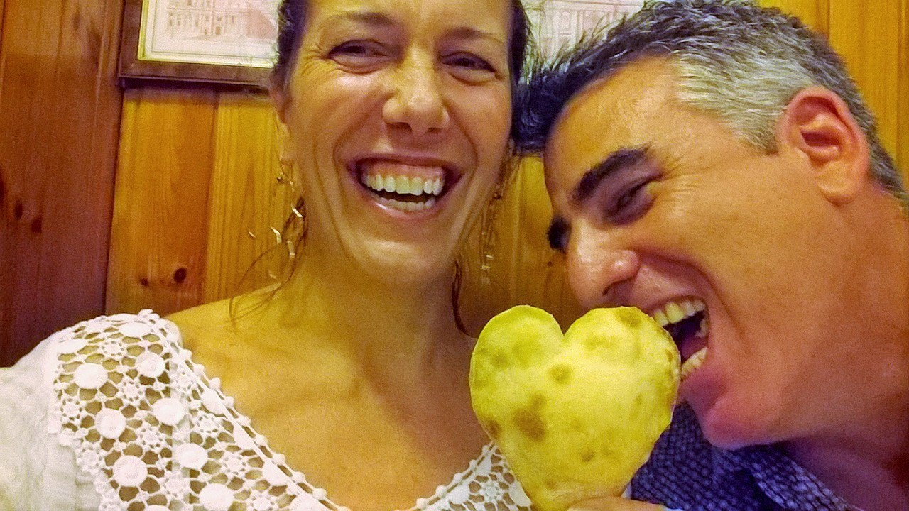An anniversary pastry heart from the kitchen at Sor'Eva!