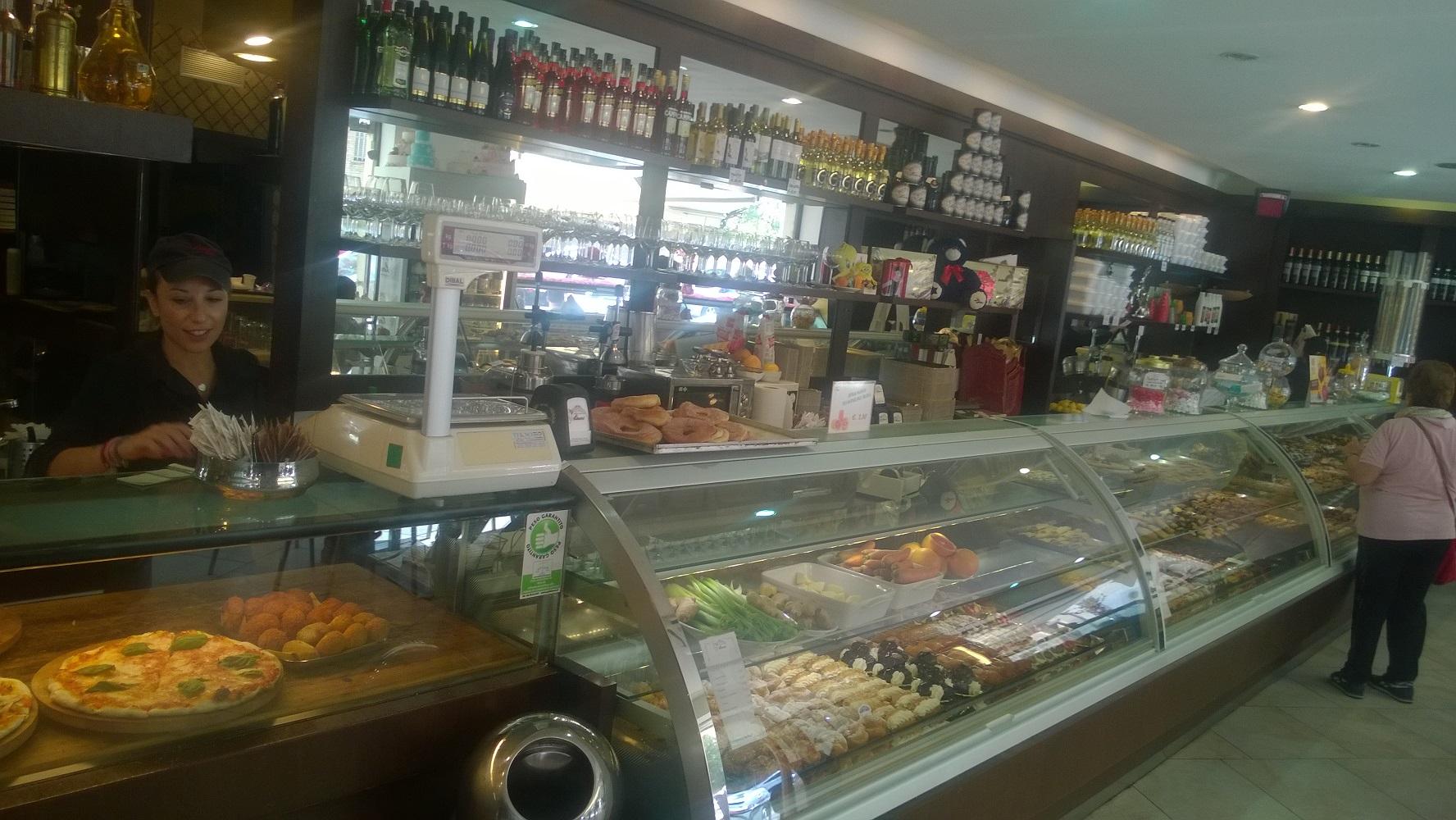 Classic & divine pastries at Linari Pasticceria in old Testaccio neighborhood, Roma