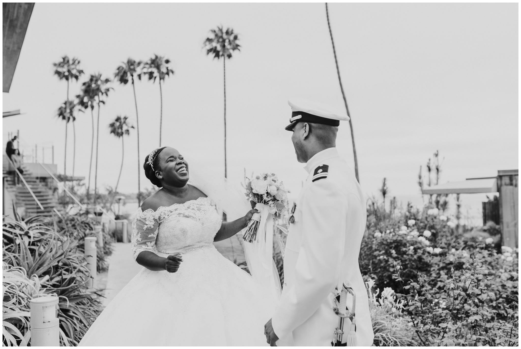 Military Chic Wedding in La Jolla