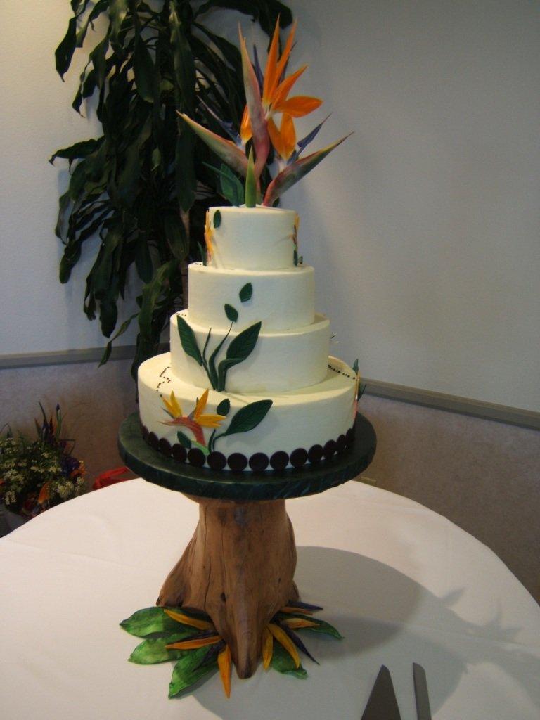 Birds of Paradise cake