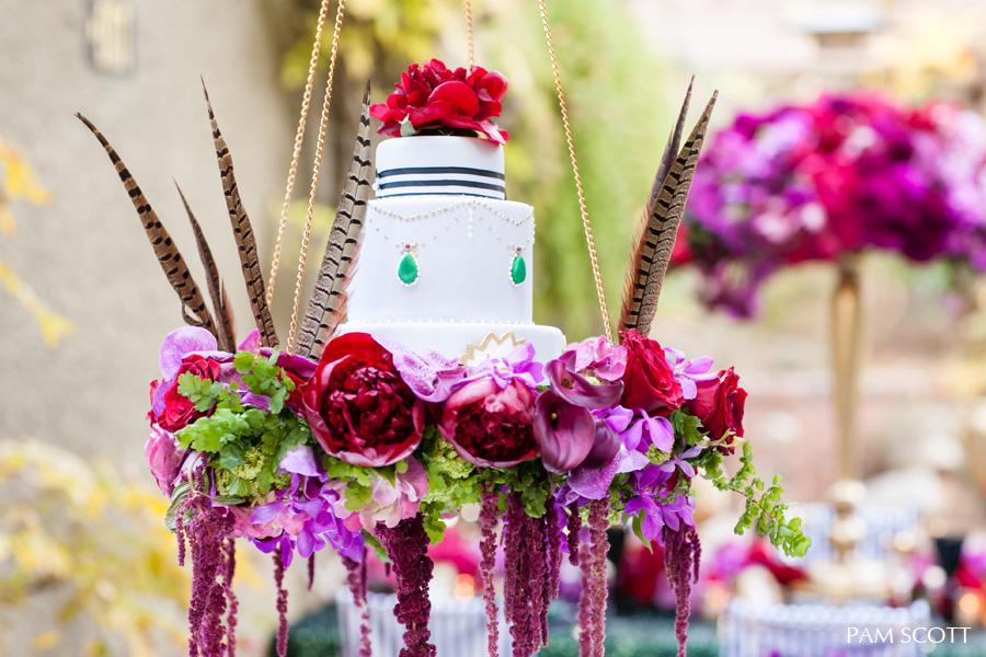 hanging-jewel-cake-sweet-cheeks-for-ceremony-magazine-jcf-crown-weddings-pam-scott-photography