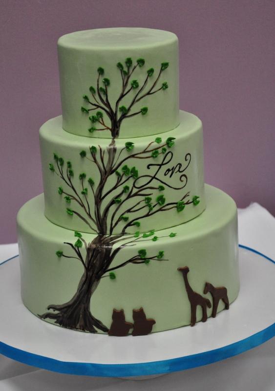 light-green-safari-love-cake
