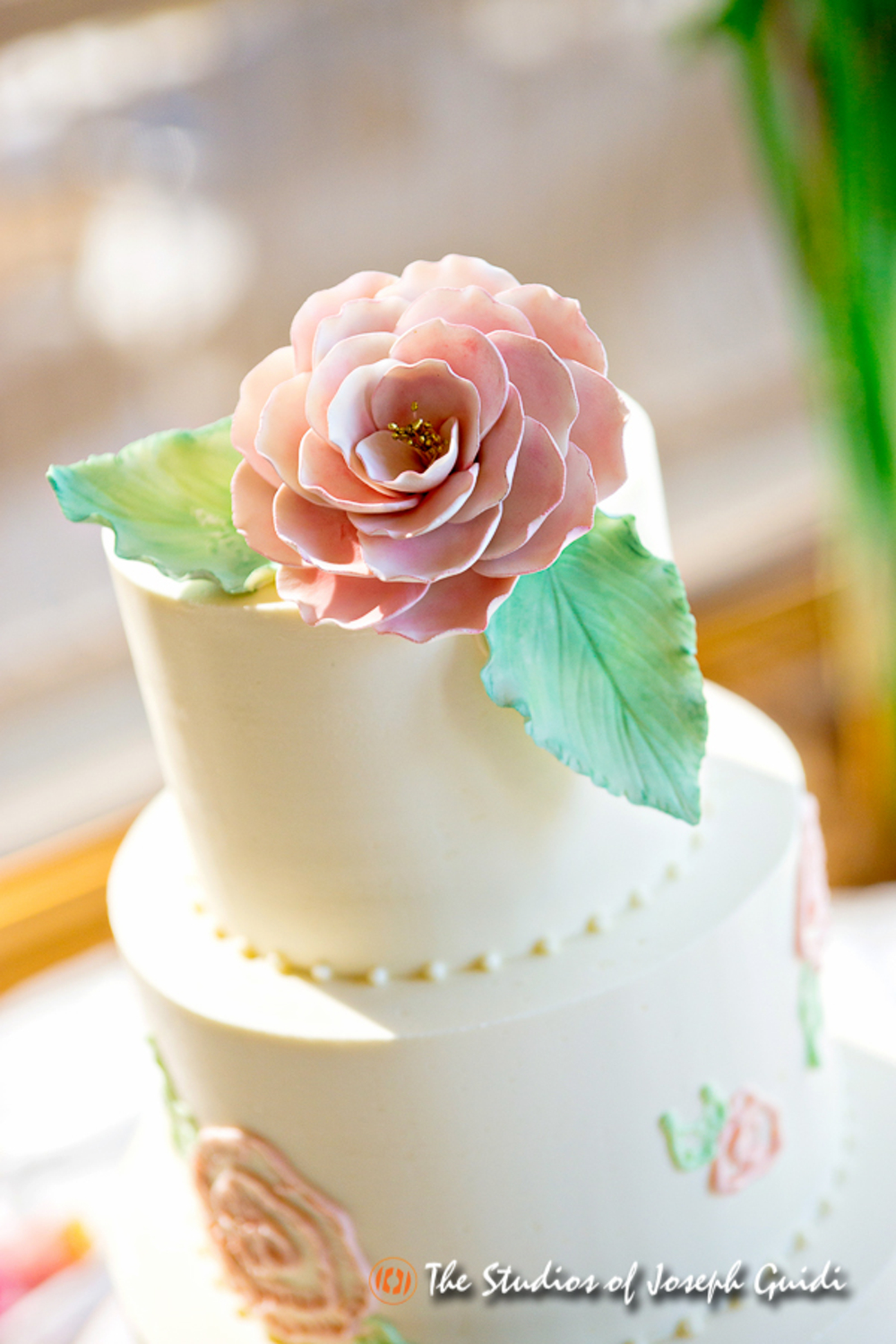 painted-rose-cake-sugar-rose-leaves-by-sweet-cheeks-baking-co-at-humphreys-joseph-guidi-photography-4