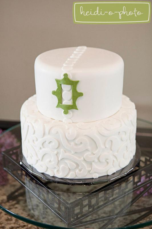 modern wedding cake design