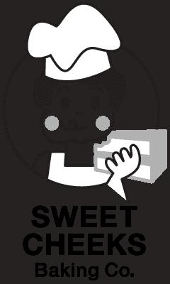 Sweet Cheeks Baking Company Retina Logo
