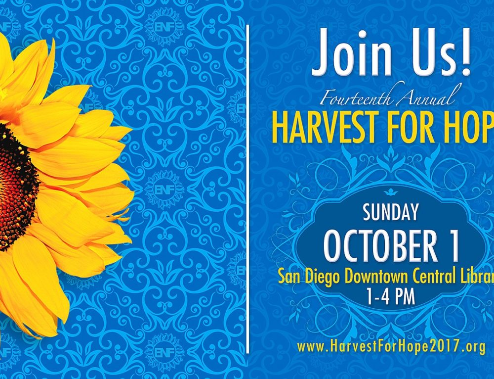 Proud to Support Harvest for Hope