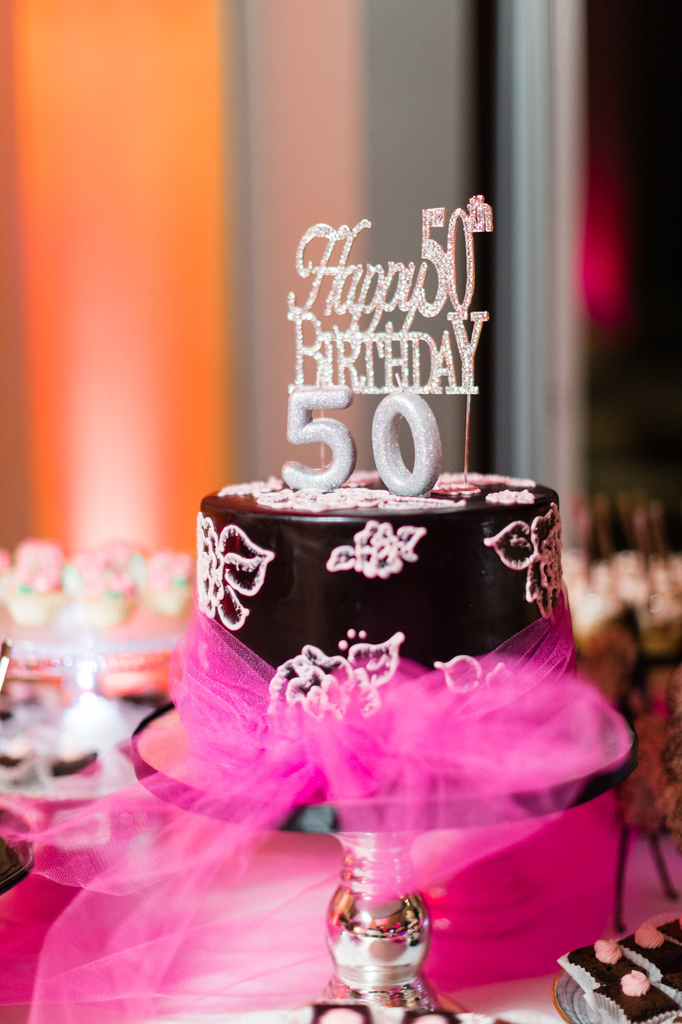 Melinda S Quot Pretty In Pink Quot 50th Birthday Party Sweet