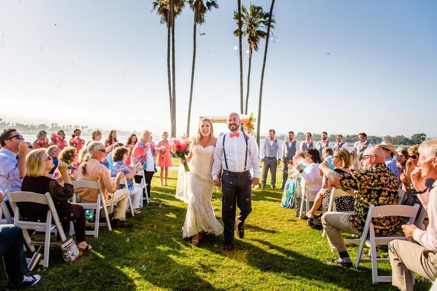 Melissa Adam S The Dana On Mission Bay Wedding