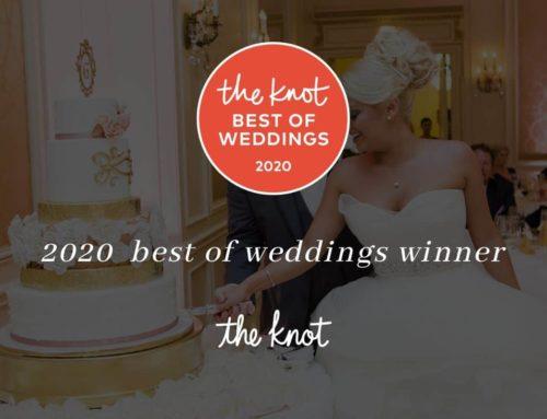 Sweet Cheeks Named Winner in The Knot Best of Weddings 2020